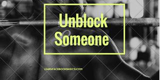 How do I Unblock A Friend On Facebook | Unblock Someone on Facebook – Facebook Unblock