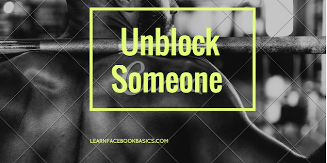 How do I Unblock A Friend On Facebook | Unblock Someone on Facebook – Facebook Unblock