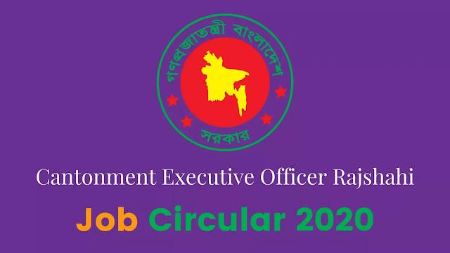 Cantonment Executive Officer Rajshahi