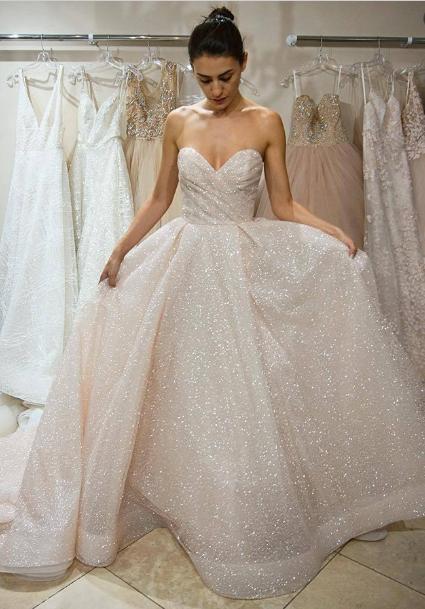 Opt For Stunning White Wedding Dresses