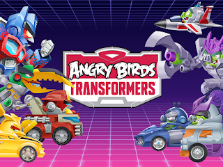 Angry Birds Transformer cracked