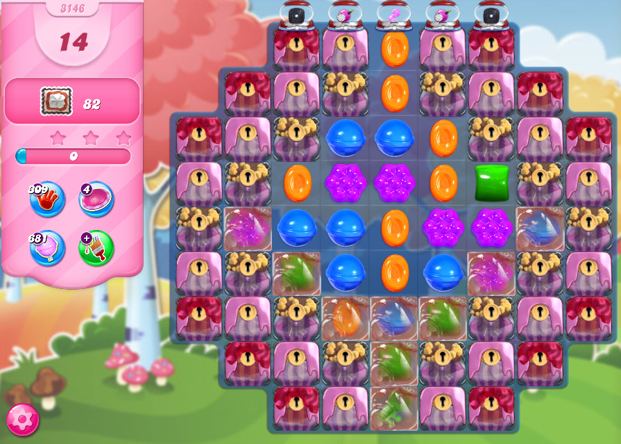 Candy Crush Saga level 3146