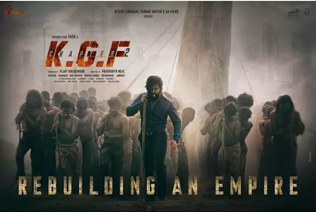KGF Chapter 2 Full Hindi Movie Download Leaked Online By Tamilrockers