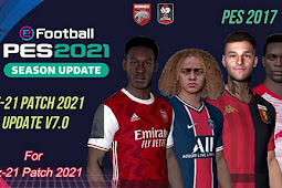 RZ Patch Season 2021 AIO + Update V7 - PES 2017