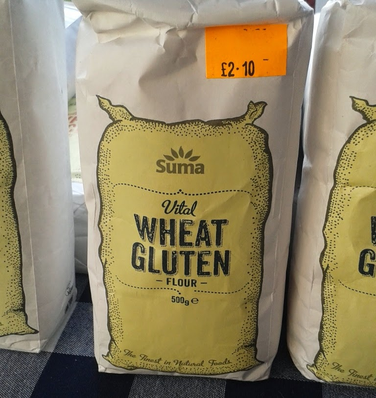 A bag of Vital Wheat Gluten Flour. Deadly to Coeliacs