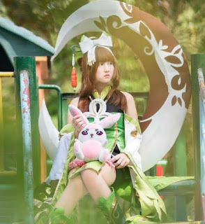 Cosplay Mobile Legend Chang'e