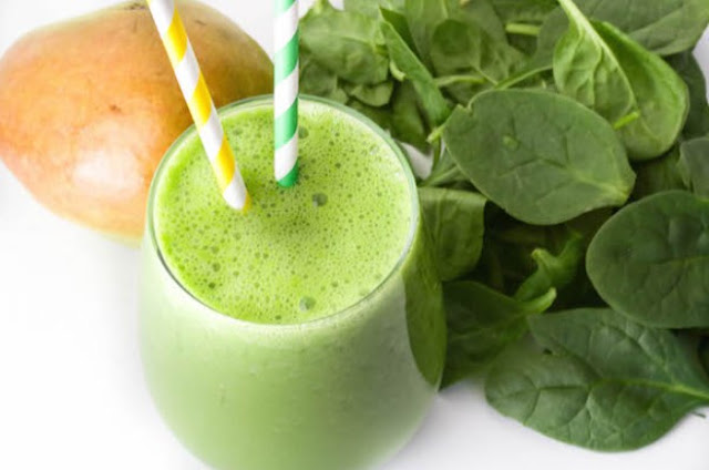 Cinnamon Pear Green Smoothie #drink #healhty