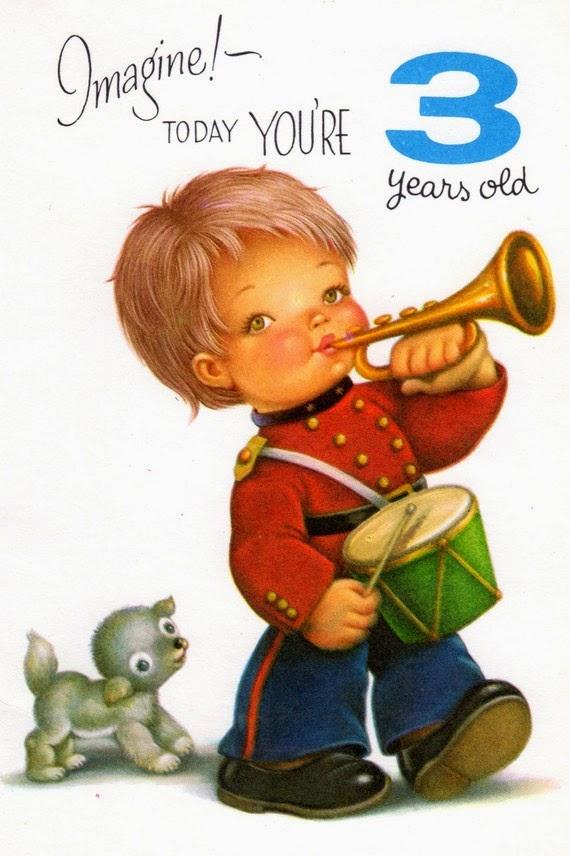 Hijo tocando la trompeta