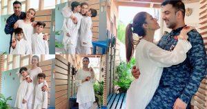 Sana Fakhar Celebrating Eid