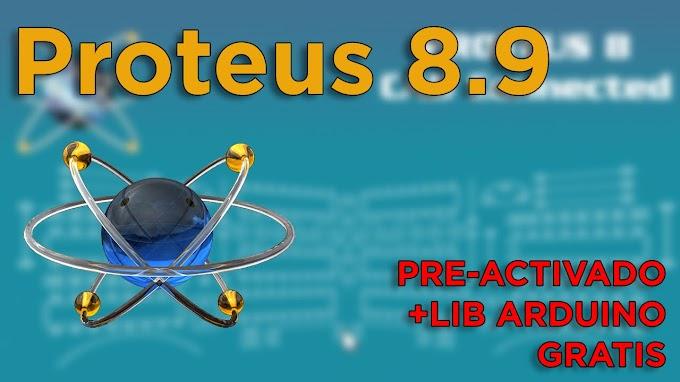 [MEDIAFIRE] - PROTEUS 8.9 FULL - PRE ACTIVADO + SIMULINO V4.0