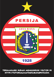 Download Vector Logo Persija Jakarta Gratis Tutorial Masta