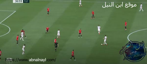 ملخص مباراة منتخب مصر الاولمبي امام منتخب اسبانيا
