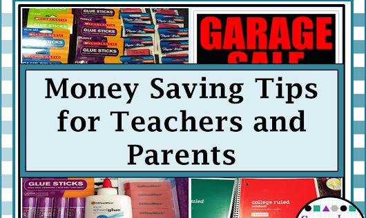 Back-To-School Money Saving Tips for Teachers and Parents!