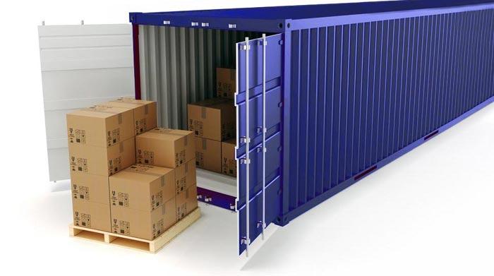 Cuantos palets caben en un contenedor completo o grupaje for Un container