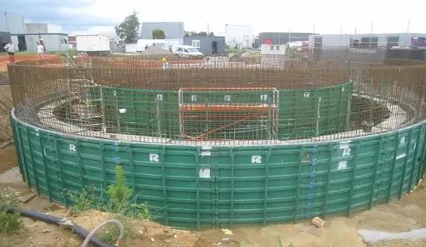 water tank formwork