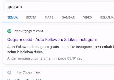 Cara Menambah Like Instagram Dari Gogram