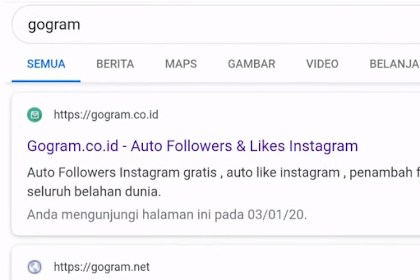 Cara Menambah Like Instagram Dari Gogram Auto Banjir Like Guys