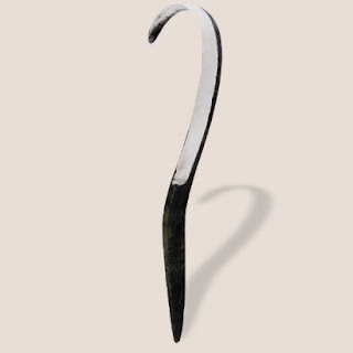 spoon carving hook knife