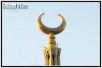 mustaka menara masjid