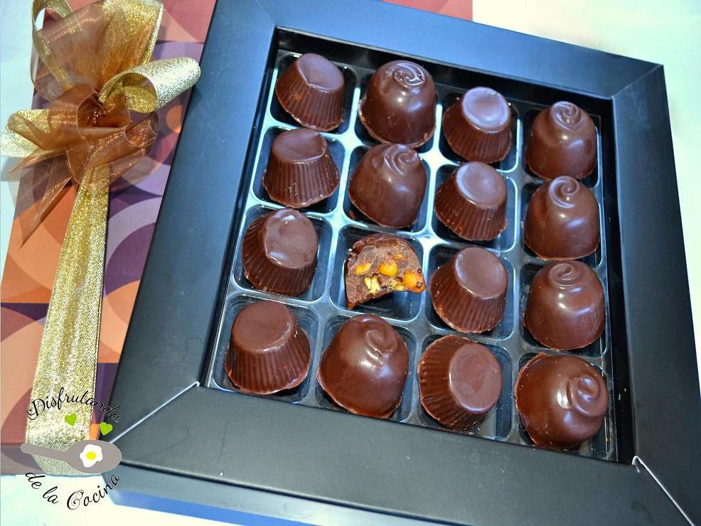 BOMBONES DE CHOCOLATE Y KIKOS