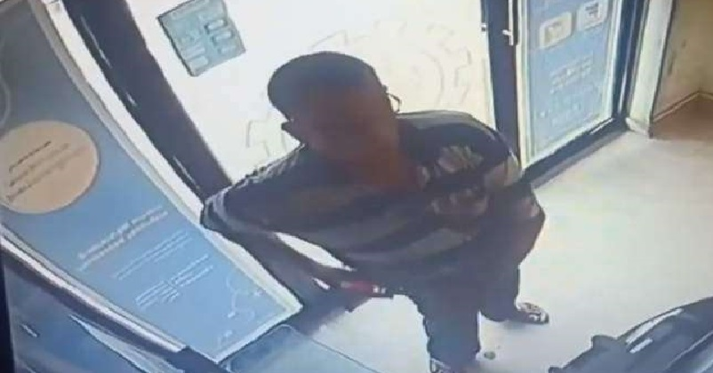 Sanitizer steal at ATM in Malappuram Police release video and search for thief,www.thekeralatimes.com