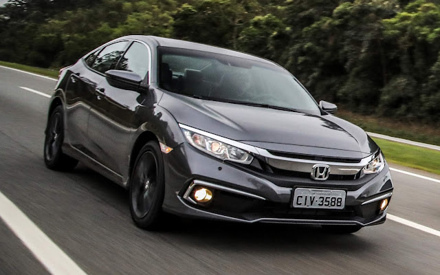 """Honda Civic vence o prêmio """"Os Eleitos"""" 2020 da 4 Rodas"""