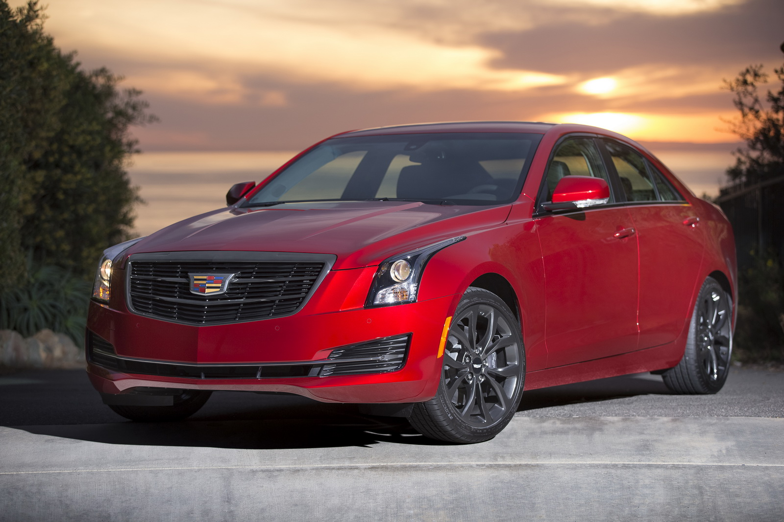 cadillac launches black chrome package for ats cts. Black Bedroom Furniture Sets. Home Design Ideas