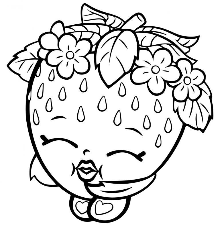 120+ Shopkins Coloring Pages (2021) Free Printable Sheets Easy To Color Coloring  Pages 2021
