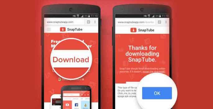 Download Snaptube Pro apk Mod Premium Terbaru
