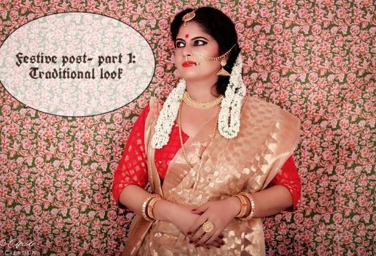 Look, saree, style, fashion, festival