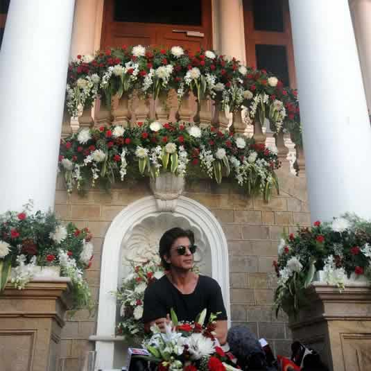 pictures of shahrukh khan�s house �mannat� in mumbai a