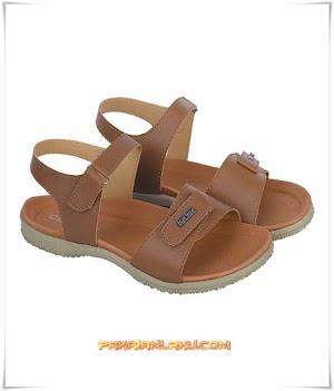 Sandal Casual Wanita Warna Tan