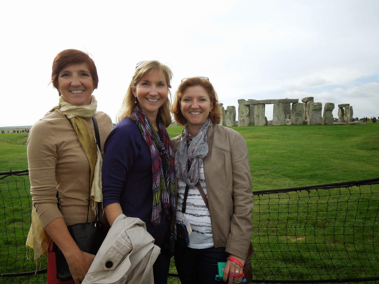 with Mary and Jenny at Stonehenge