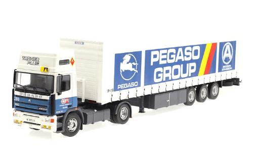 coleccion camiones y autobuses españoles, pegaso troner plus 1:43