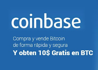 Enlace de regístro a Coinbase