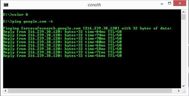 Cara membuat shortcut ping otomatis menggunakan cmd