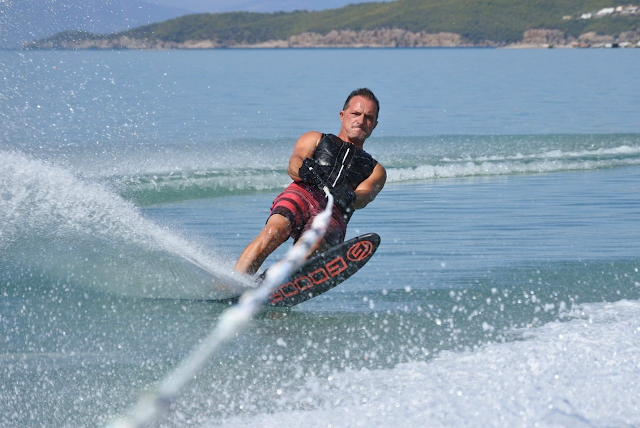 Διεθνής Αγώνας θαλάσσιου Σκι στο Πόρτο Χέλι Αργολίδας