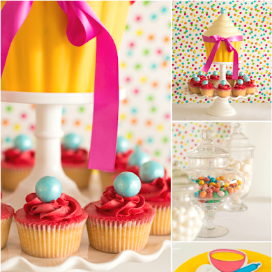 A Gluten Free Cupcake Baking Birthday Party