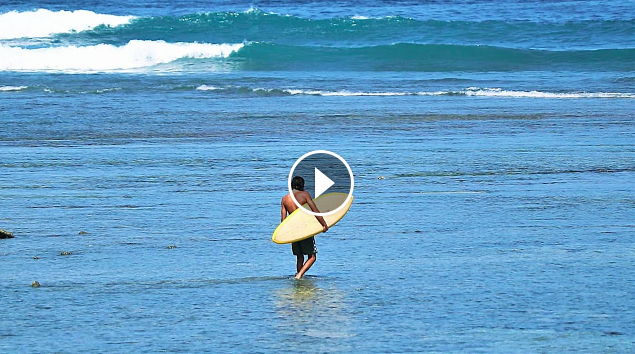 Surfing Desert Point Without A Leash - Surfing Lombok 10th 11th October 2020