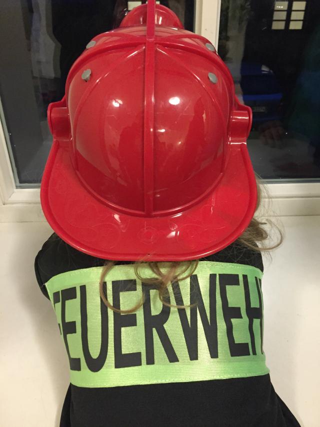 Kugelfisch-Blog: Feuerwehrmann Kostüm