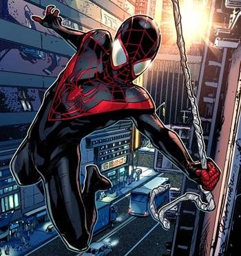 Miles Morales es Spiderman