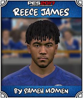 PES 2017 Faces Reece James by Sameh Momen