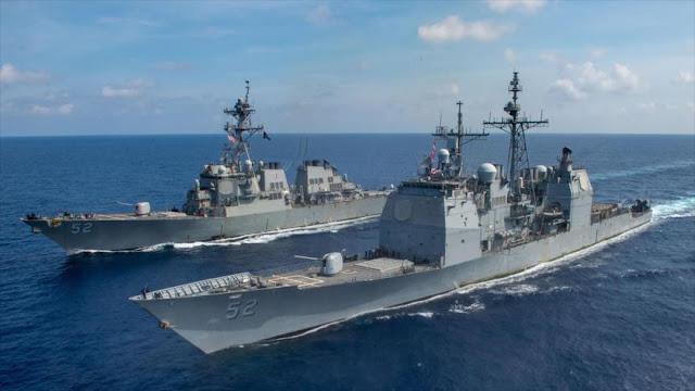 China advierte a EEUU de un enfrentamiento militar en mar del Sur