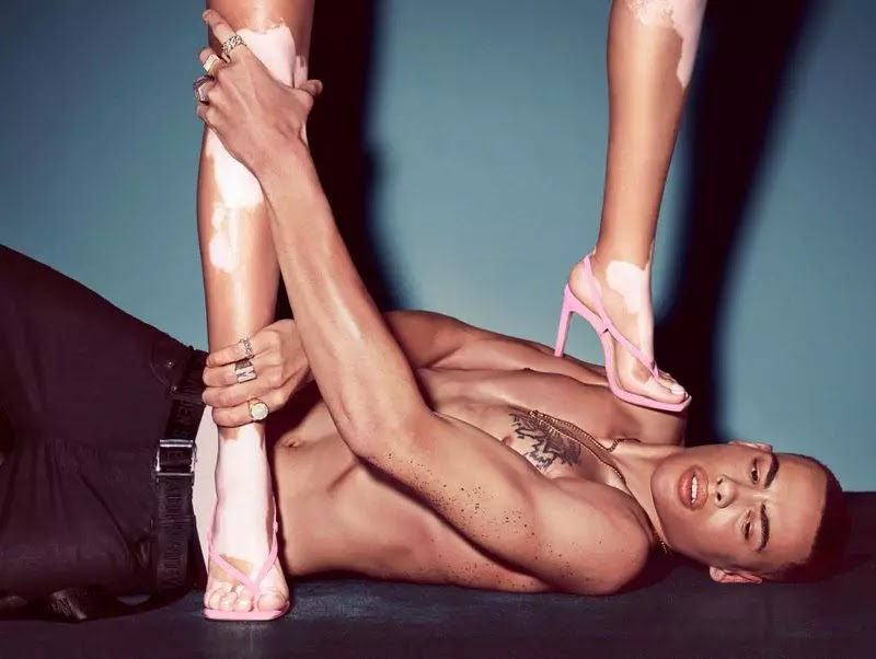 Winnie Harlow joins Allen Haygood for Steve Madden spring 2020 collaboration campaign