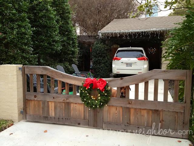 cordless christmas wreath