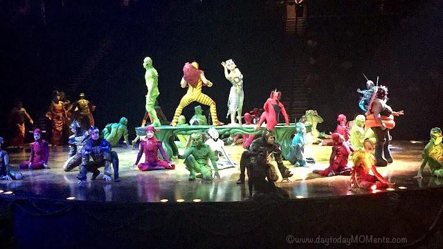 """OVO"" Cirque Du Soleil Live bklyn review"