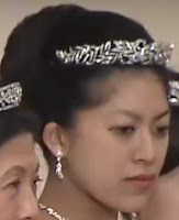 diamond tiara princess tsuguko takamado japan wako