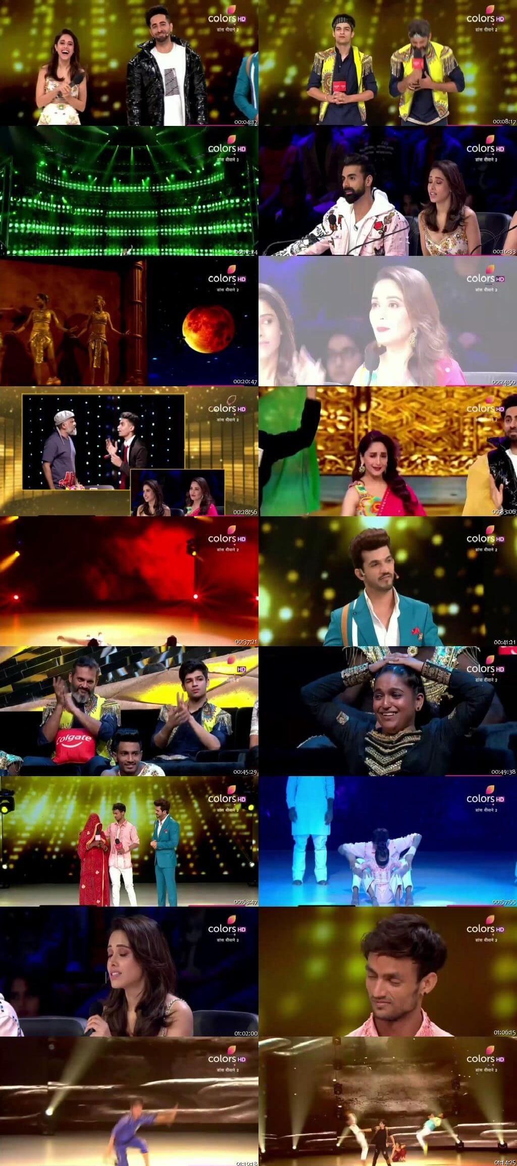 Screenshots Of Hindi Show Dance Deewane 2 14th September 2019 Episode 27 300MB 480P HD