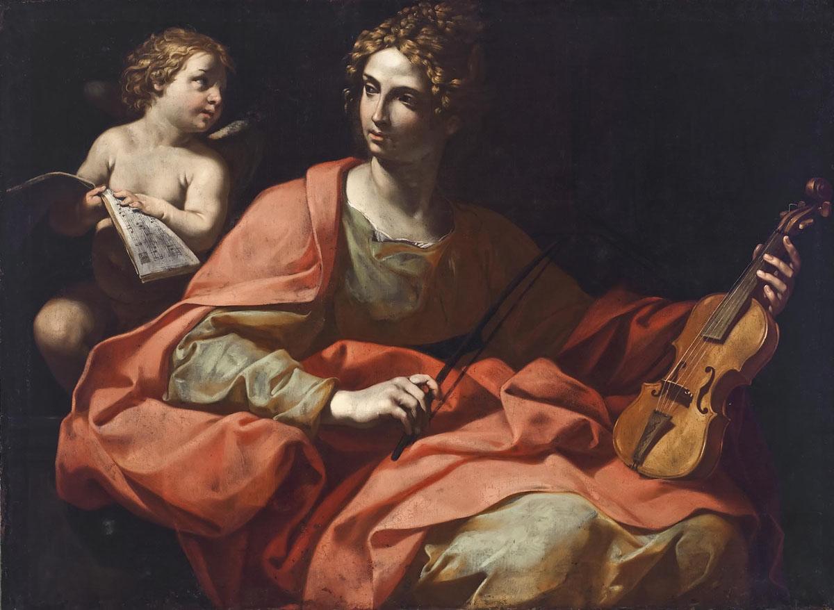 Giuseppe Puglia Italian   Saint Cecilia