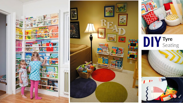 clever reading spaces for kids